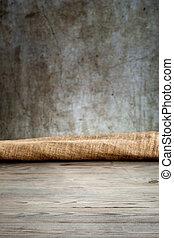 drewniany stół, tło