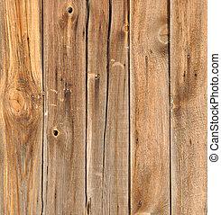 drewniany, stary, deski
