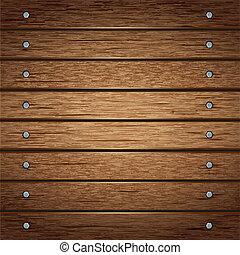 drewniany, tło., struktura