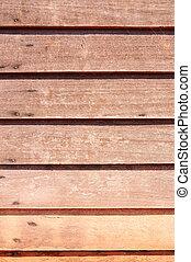 drewno, ściana