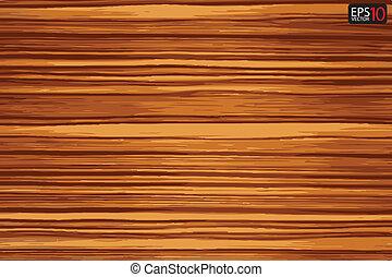 drewno, tło, deska, wektor