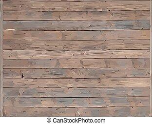 drewno, wektor, deska, struktura