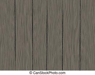 drewno, wektor, deska, tło, struktura