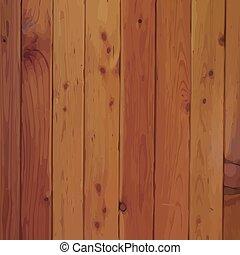 drewno, wektor, grunge, deska, struktura