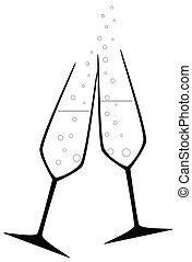 dricka, firande