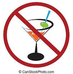 drickande, nej