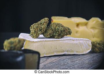 Dried cannabis bud (Cheese strain) - medical marijuana ...