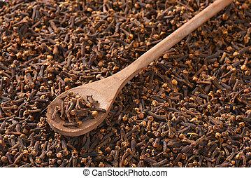 Dried cloves - Full frame of dried cloves