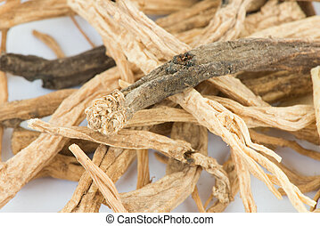 Dried codonopsis root chinese herbal medicine