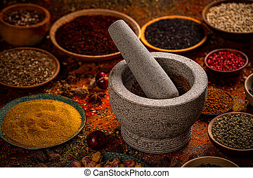 Dried culinary spices