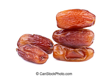 dried dates close up