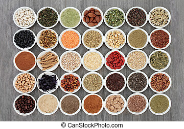 Dried Diet Food and Supplement Powders - Dried diet health...