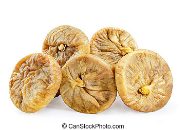 Dried Figs fruits iisolated - Dried Figs fruits isolated....