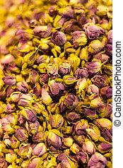Dried Flowers in Spice Bazaar