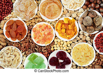 Dried Fruit and Nut Collection