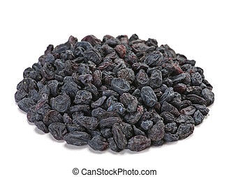 Dried fruit raisin - Black dried fruit closeup raisin on...