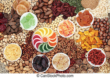 Dried Fruit Seed and Nut Collection