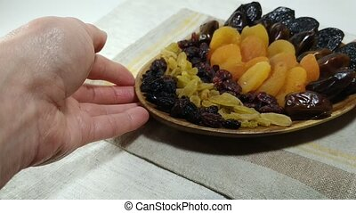 Dried fruits apricot, raisins, dates, cranberry 2 - Dried...