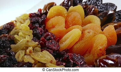 Dried fruits apricot, raisins, dates, cranberry 4 - Dried...