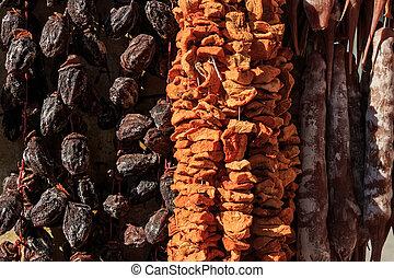Dried fruits assortment