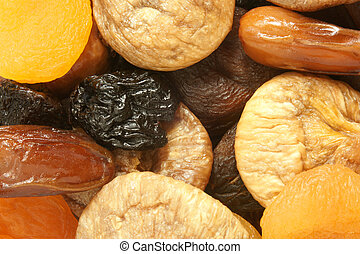 Dried fruits mixed