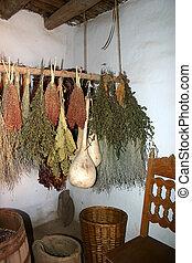 Dried Herbs & Gourds