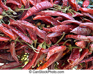 Dried Hot Chillies