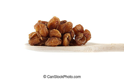 Dried longan used in Traditional Chinese Medicine.