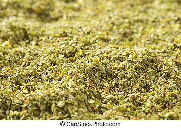Dried Marjoram leaves
