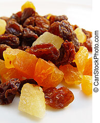 Dried Mixed Fruits - Dried mixed fruits, a healthy snack.