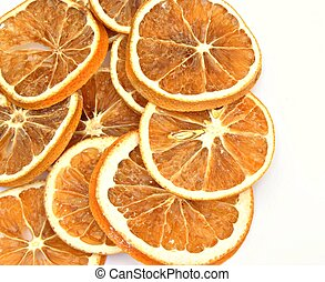 Dried orange slices
