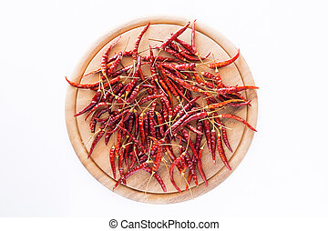 Dried peppers for cooking