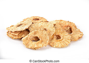 Dried pineapple slices