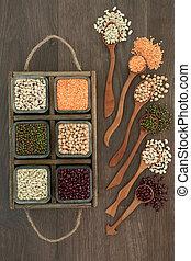 Dried Pulses Health Food
