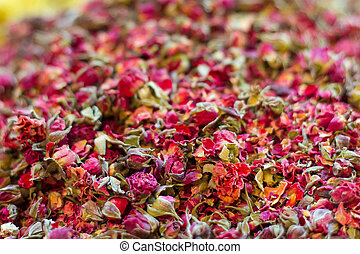 Dried Roses in Spice Bazaar