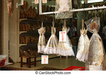 dried salt fish