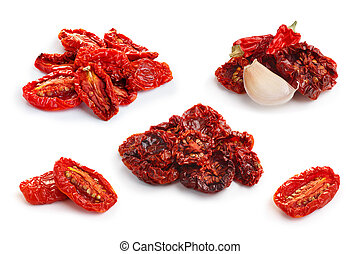 Dried tomatoes set - Set of sun dried tomatoes and cherry ...