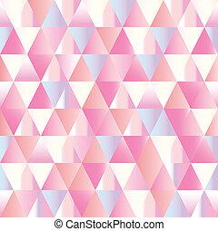 driehoek, abstract, pattern., seamless, ruiten