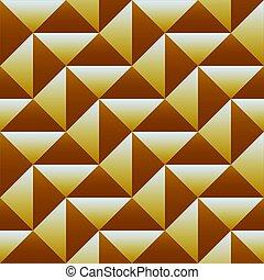 driehoek, geometrisch, pattern., seamless, achtergrond