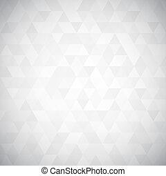 driehoek, pixel, mozaïek, digitale