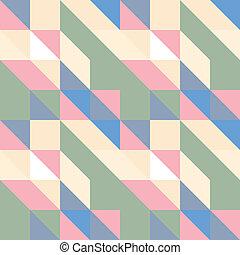 driehoek, seamless, model, vector.