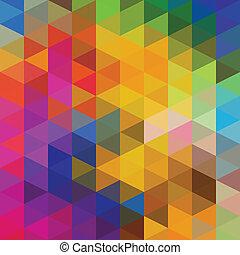 driehoeken, model