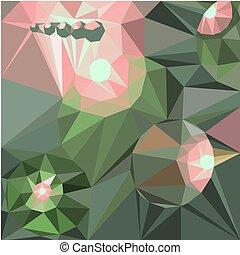 driehoekig, geometrisch, poly, illustratie, grafisch, stijl, rumpled, achtergrond, vector, abstract, laag