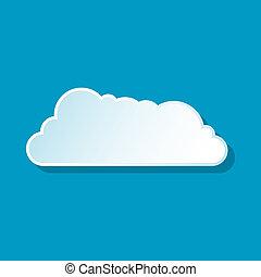 Drifting cloud icon