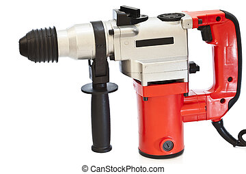 drill isolated on a white background
