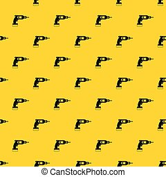 Drill pattern vector
