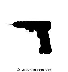 drill vector illustration