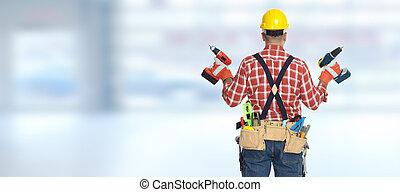 drill., villanyszerelő