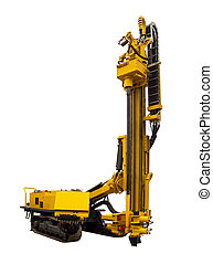 Drilling Rig  on a white background