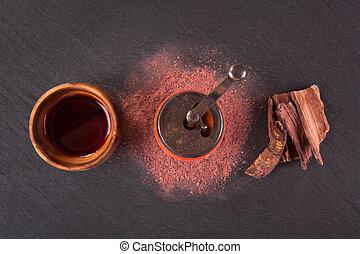 drink., ayahuasca, psychoactive